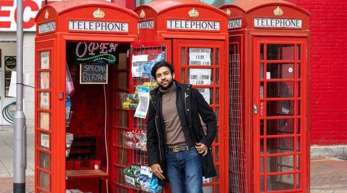 Pakistani entrepreneur turns UK's iconic red phone box into takeaway restaurant