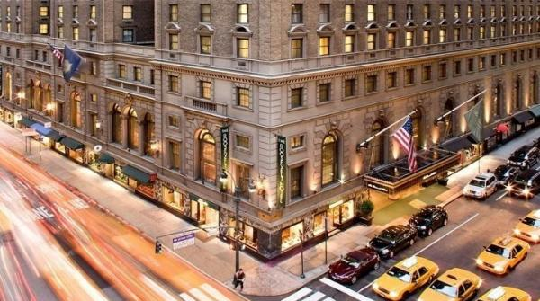 Ghosts roam in New York's Roosevelt Hotel