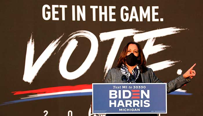Kamala Harris halts travel amid campaign after staffer tests positive for COVID