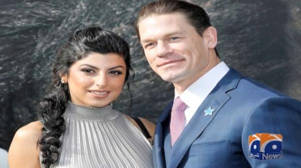 John Cena, girlfriend Shay Shariatzadeh tie the knot