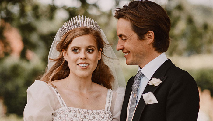 Princess Beatrice touches on wearing the Queens gown for her wedding