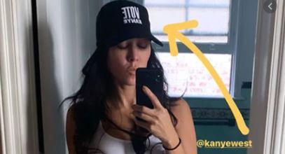 Kourtney Kardashian Endorses Kanye for President, Twitter Erupts