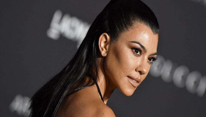 Kourtney Kardashian under fire for promoting Kanye Wests election campaign merchandise