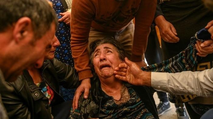 Nagorno-Karabakh dispute: Armenia blames Azerbaijan of violating humanitarian truce