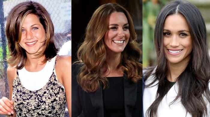Meghan Markle, Jennifer Aniston and Kate Middleton followed by fashion world for a same reason