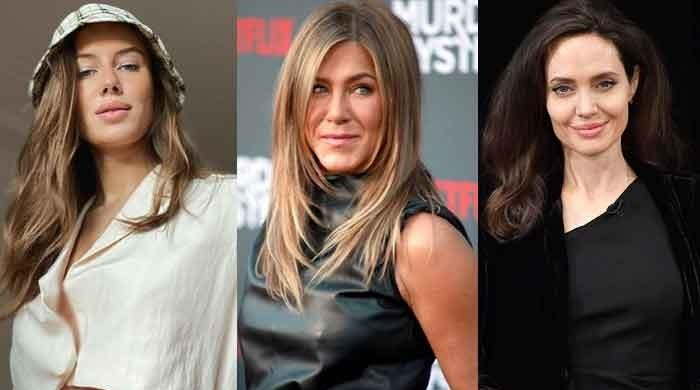 Brad Pitt's girlfriend Nicole Poturalski seems to leave Jennifer Aniston, Angelina Jolie behind with her styles