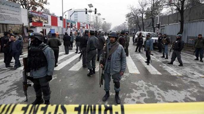 Stampede in Afghanistan kills several