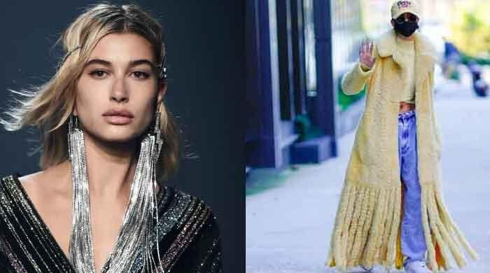 Hailey Baldwin's recent appearance in long yellow coat attracts trolls