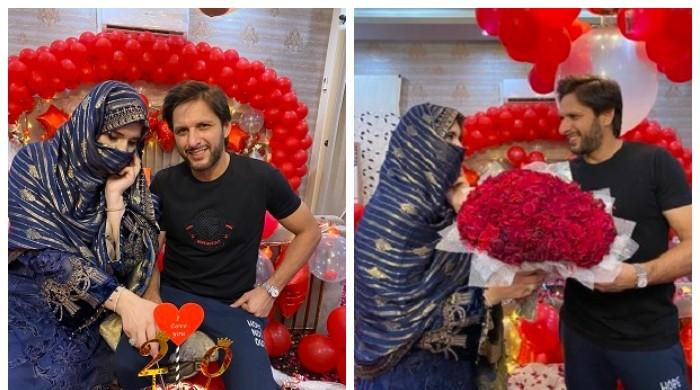 '20 years of bliss': Shahid Afridi pens love-filled note for wife Nadia on wedding anniversary
