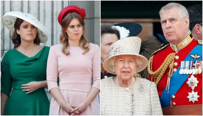 Photo of Queen leaves Prince Andrew enraged after rejecting plea for his 'pampered' daughters