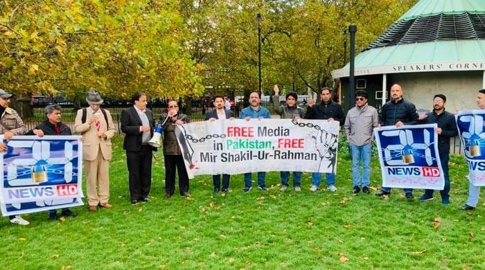 UK Speaker's Corner protest demands MSR's release