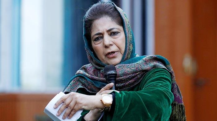 Mehbooba Mufti refuses to raise India's national flag in hard-hitting press conference