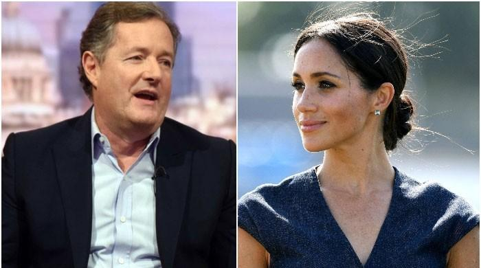 Piers Morgan asks Meghan Markle to 'get perspective': 'she made that all about herself'