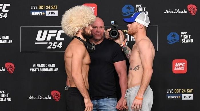 Khabib vs Gaethje: How to watch UFC 254 live