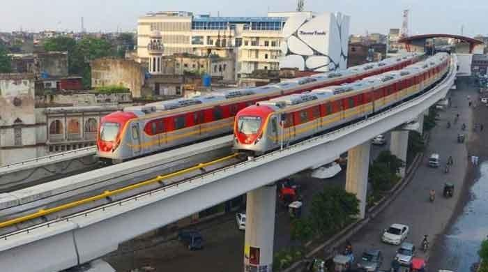 Punjab CM Buzdar inaugurates Lahore Orange Line Train project
