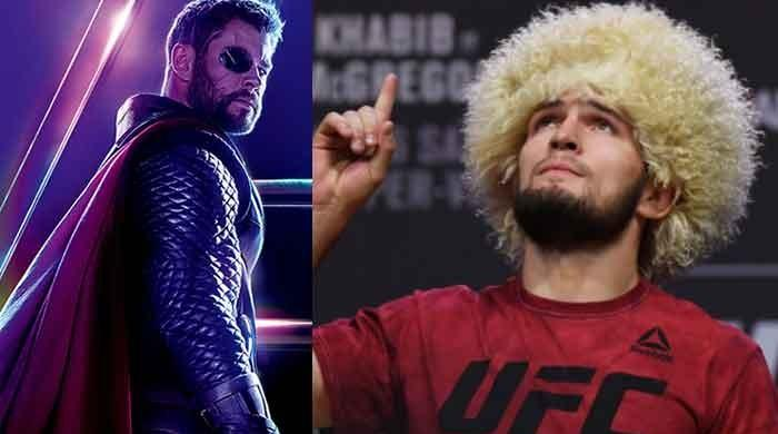 'Thor' actor Chris Hemsworth expresses his views about Khabib Nurmagomedov