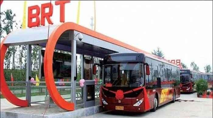 BRT bus develops fault a day after resumption of service
