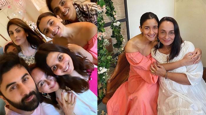 Ranbir Kapoor, Alia Bhatt enjoy birthday bash of Soni Razdan with family ahead of their wedding