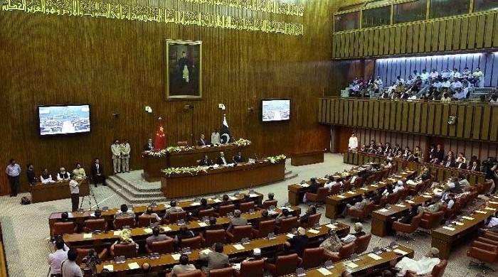 Pakistan's parliament unanimously approves resolution condemning blasphemous French cartoons