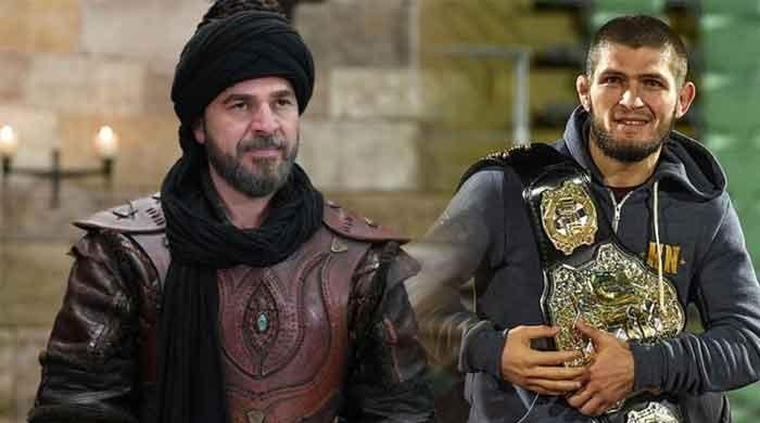 'Ertugrul' actor pays tribute to Khabib Nurmagomedov, shares throwback picture