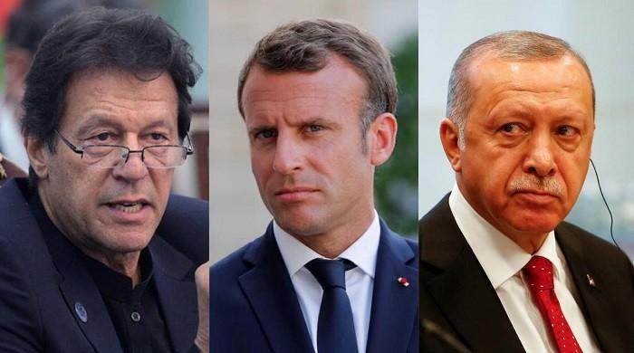French interior minister hits out at criticism by PM Imran Khan, President Erdogan
