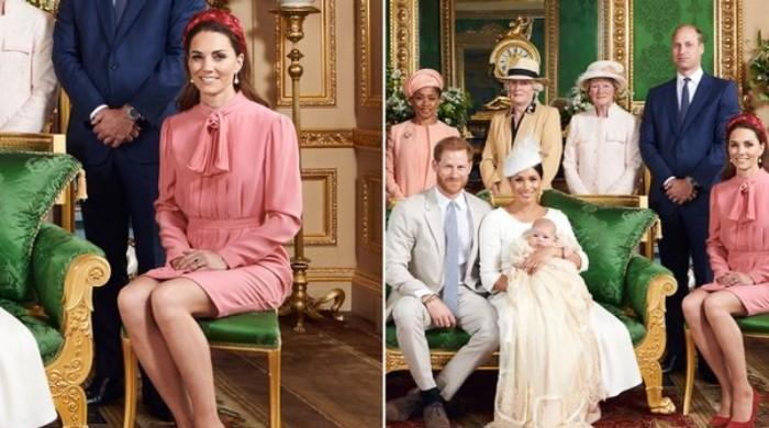 Body language expert decodes Kate Middleton's tense demeanor at Archie's christening