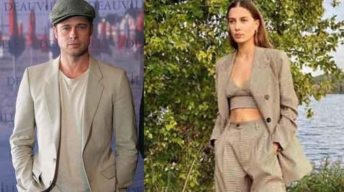 Brad Pitt's ex Nicole Poturalski teases fans with new post