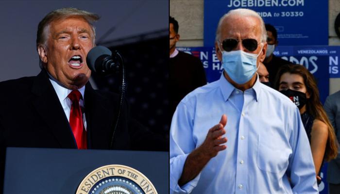 US election 2020: Joe Biden leads in polls, Donald Trump close in swing  states