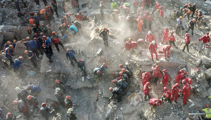 Rescuers pull two children from rubble days after Turkey's quake