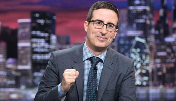 John Oliver Nearly Cried During His First Time Voting in America