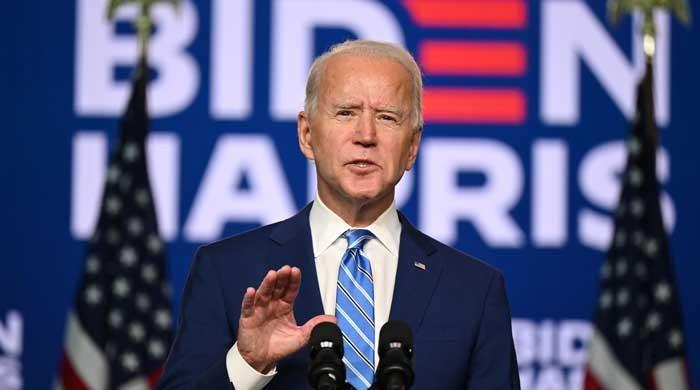 Joe Biden, president-elect of a 'divided' states of America?