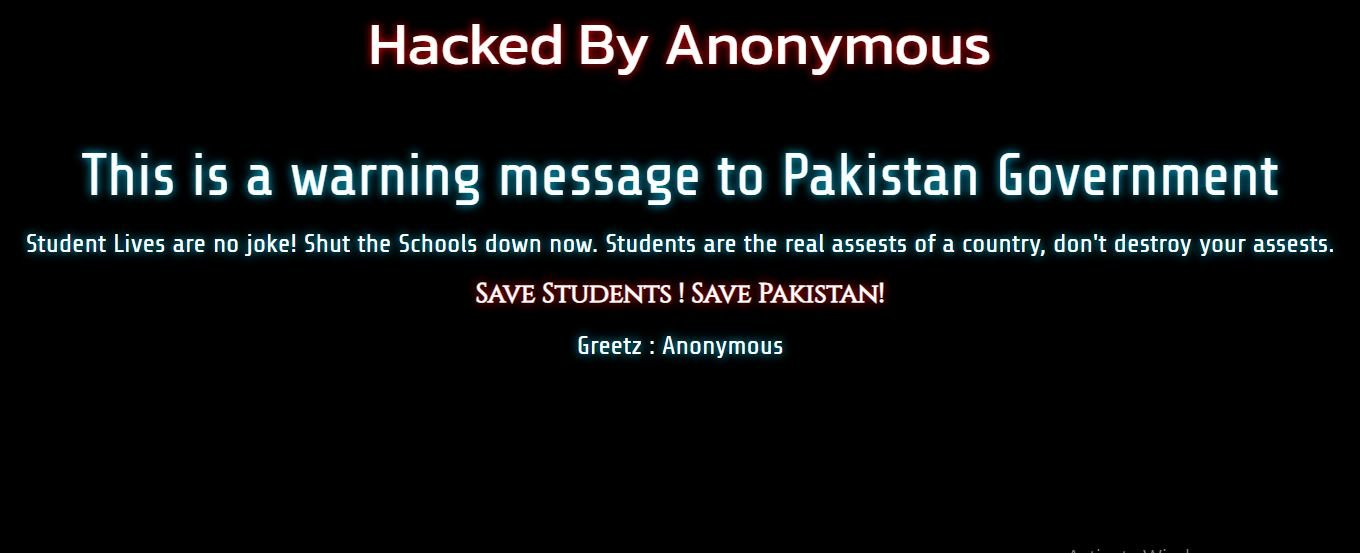 Sindh Investment Website hacked