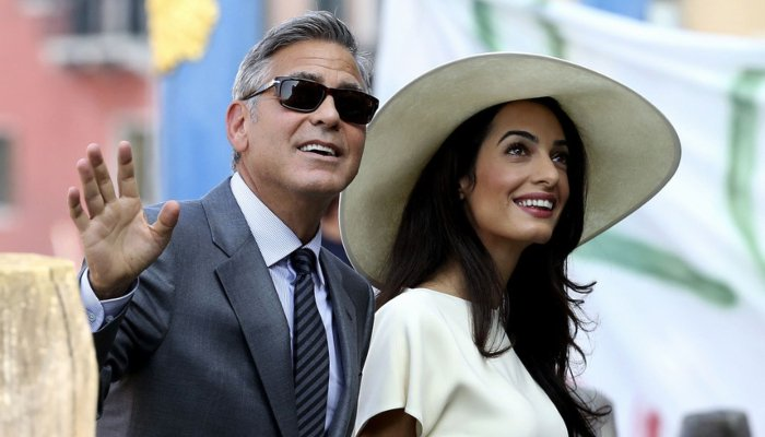 George Clooney reveals $14 million cash gift to his 14 closest friends