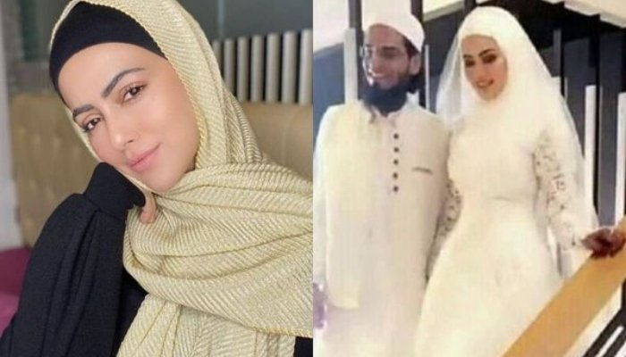 After quitting Bollywood Sana Khan marries Mufti Anas in low-key ceremony