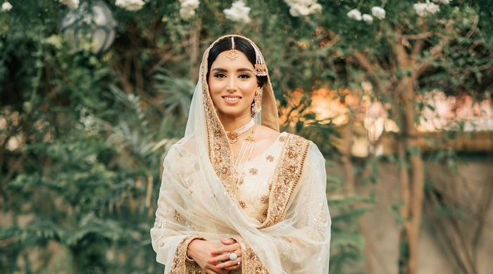 Sports presenter Zainab Abbas can't believe a year has gone by since her wedding