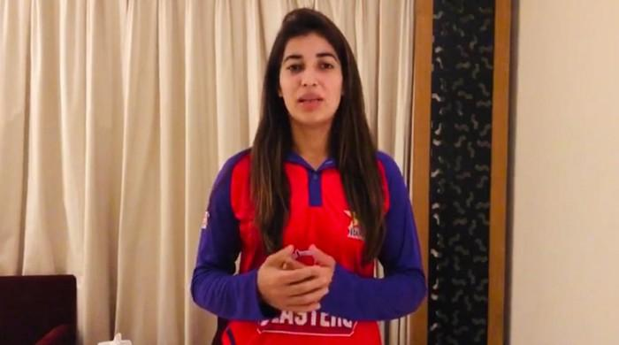 Cricketer Aliya Riaz bowls fast, hits big shots and harbours serious ambitions