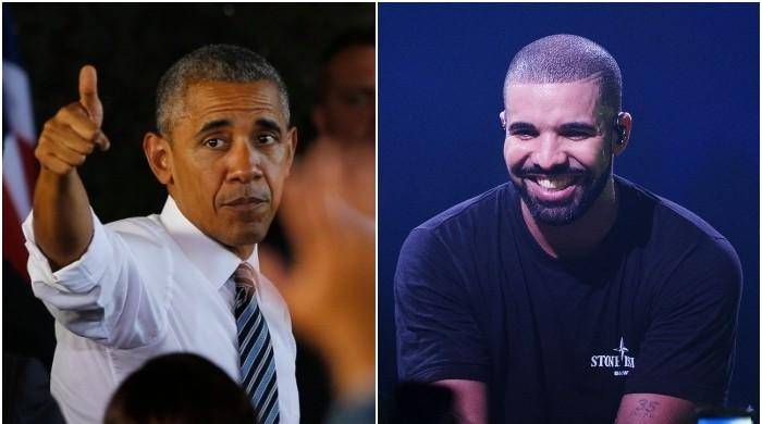 Barack Obama gives a 'thumbs up' to Drake playing him in his biopic