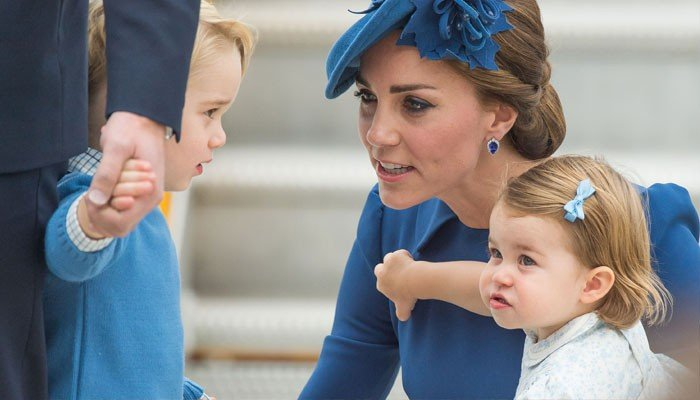 Kate, Prince Williams disciplinary tactics for George, Charlotte unvei... image