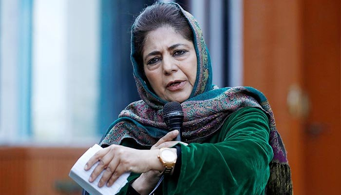 If you can talk to CHINA, why not Pakistan, Mehbooba asks India