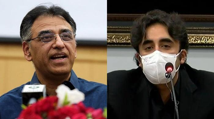 Asad Umar wishes Bilawal well, hopes PPP chief will urge voters and leaders to implement health guidelines