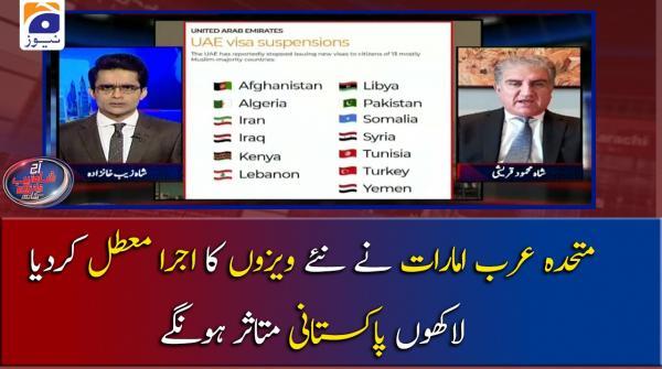 متحدہ عرب امارات نے نئے ویزوں کا اجرا معطل کردیا،لاکھوں پاکستانی متاثر ہونگے