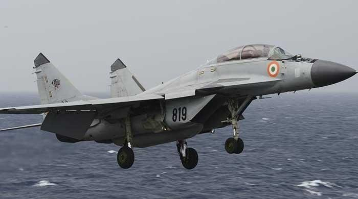 Indian Navy pilot missing after MiG-29K crashes in sea
