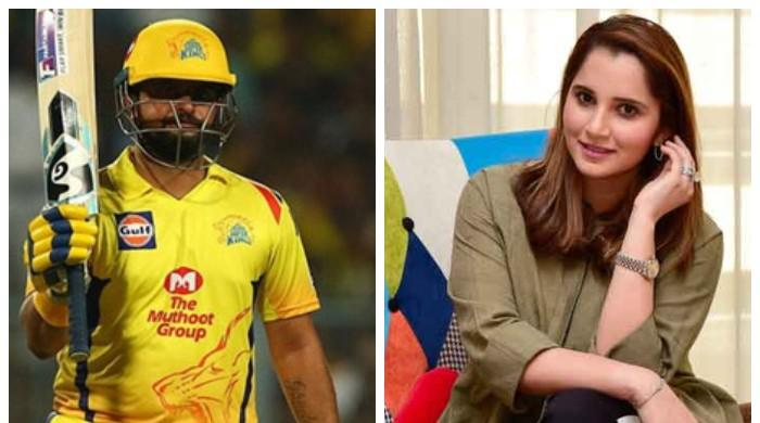 Sania Mirza wishes India's Suresh Raina a happy birthday