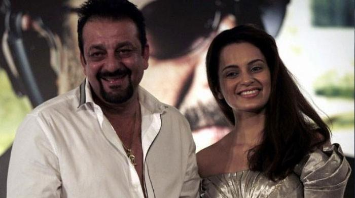 Kangana Ranaut meets Sanjay Dutt, prays for his good health