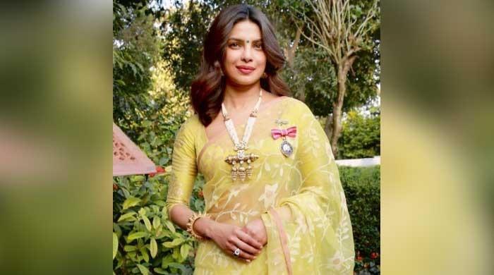 Priyanka Chopra shares throwback photo of receiving Padma Shri