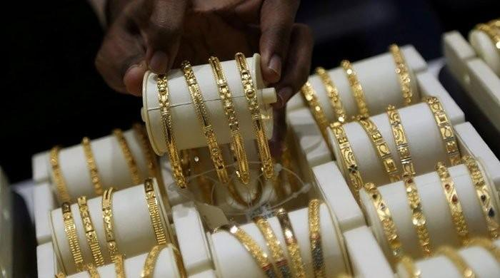 Gold rates fall Rs800 per tola in Pakistan