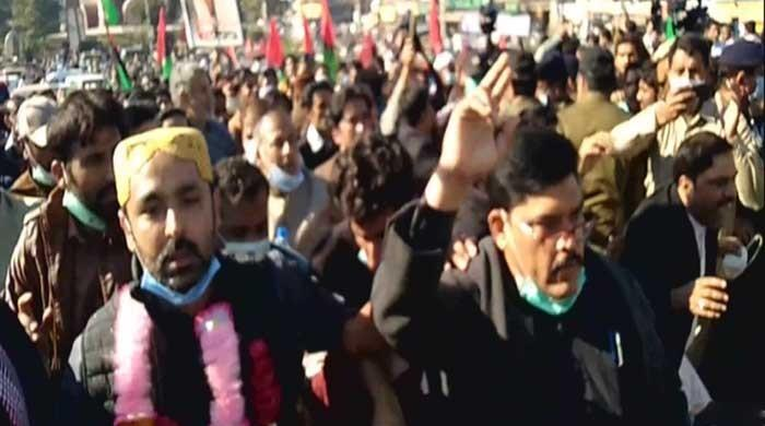 PPP workers booked after storming into Multan's Qila Qasim Bagh ahead of Nov 30 PDM rally
