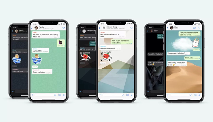 WhatsApp gets Sticker Search, new animated sticker pack, wallpapers