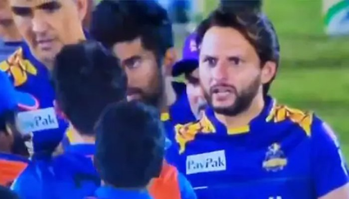 Shahid Afridi lashes out at Afghan player for disrespecting Mohammad Amir