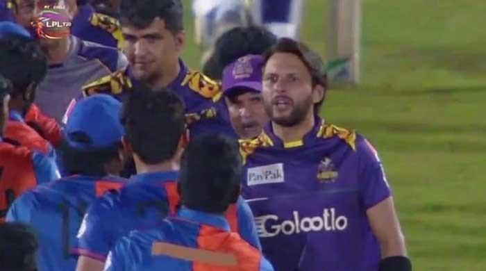 Watch: Shahid Afridi fumes at Afghanistan player for misbehaving with Mohammad Amir